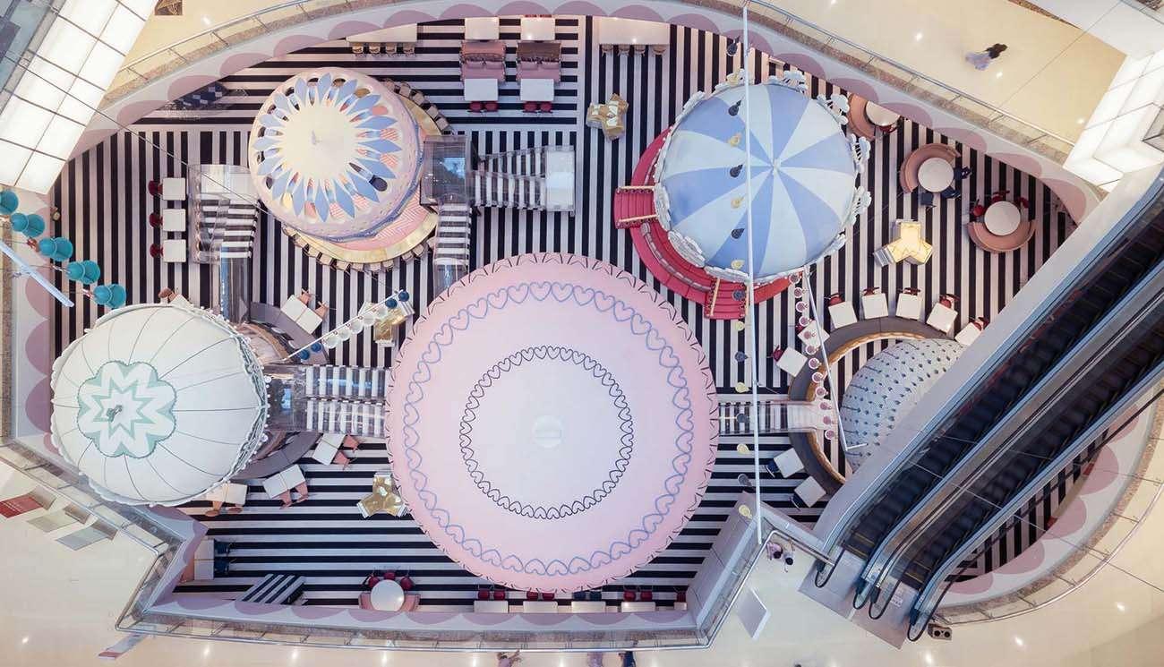 Il Parco Delle Camerette design da sogno: in cina il parco giochi fiabesco firmato x+