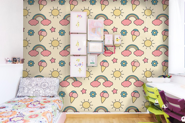 Pannelli Decorativi Per Camerette nuvole rosa - migliorino design©